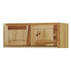 Kitchen Classics Denver 30-in W x 12-in H x 12-in D Stained Hickory Door Wall Cabinet