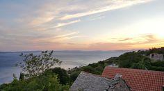 Sunset in Split-Dalmatia.