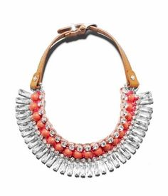 DELUXE GIRLFRIEND CRYSTAL FRINGE COLLAR