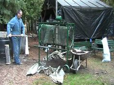 Homemade Compost Screener - YouTube
