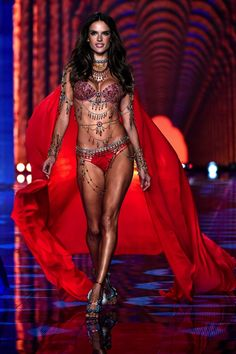 Million Dollar Alessandra Ambrosio at VS Fashion Show 2014 #vsfashionshow #model #angel #london #alessandraambrosio #sexybelly #outfit #red #celebrity #victoriassecret #hot #pretty #tanned #tonned #body #sexy #fit #amazing #fantasybra #brazilian #gorgeous #lingerie #luxury #outfit #godess #perfect