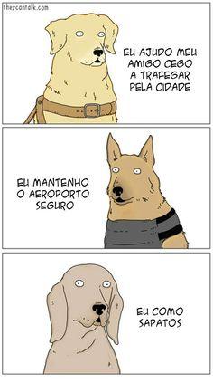 Cães e suas Funções