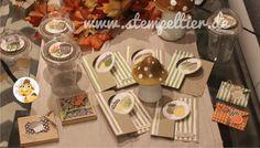 stampin up herbst eichel acorny thanks herbstgrüße workshop autumn fall brush strokes alle