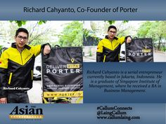 Richard Cahyanto, Co-Founder of Porter