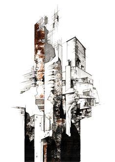 architecture sucks — fabriciomora: Architectural Illustrations by...