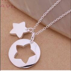 Star jigsaw necklace 925 Sterling silver, brand new Jewelry Necklaces