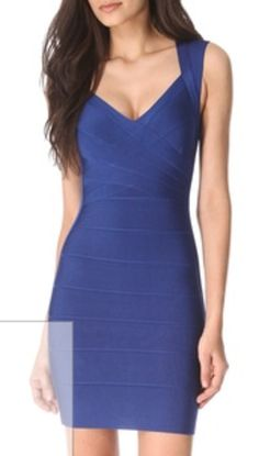 Herve Leger Dress - Would love this to be my style!
