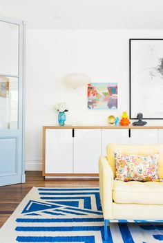 danielle oakey interiors: I Love a Bold Rug!