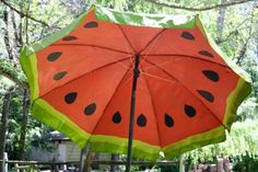 DIYNetwork.com shows you how to revive an old outdoor umbrella with a fun and creative coat of paint.