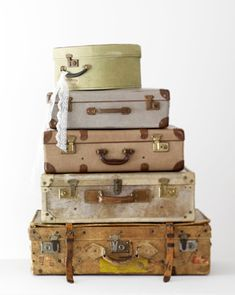 Day 78 | Vintage suitcases, Shabby and Storage