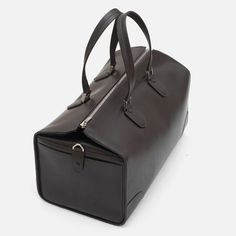 Valextra Leather Travel Bag