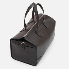 Valextra Leather Travel Bag