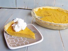 A Pie That Meets All Your Holiday Needs - Old Fashioned, Gluten Free, Diabetic, and OH-NO-I-Forgot-To-Make-The-Pie Sweet Potato Pie - Kelli's Kitchen