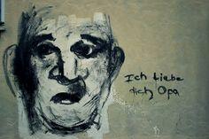 Ich vermisse dich, Opa. #erlangen #deutschland #graffiti