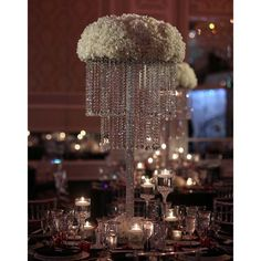 Custom Built Crystal Chandelier, currently available throughout NJ, NYC & CT from Couture Event Rentals.