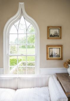 Beautiful Window.   Portobello Design: LOVELY AND CLASSIC: India Hicks' Oxfordshire Estate