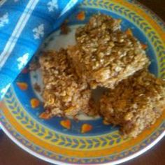 Almond and Soy Nut Power Bars Allrecipes.com. I want to try making a variation of these! :)