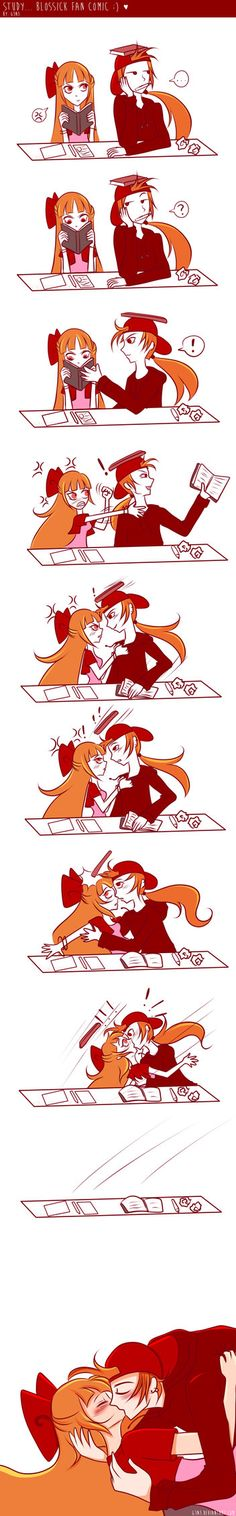 Study... Blossick comic one-shot by G3N3 on DeviantArt