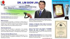 dr. Lim's ideas about the advantages of DXN (Türk dili)