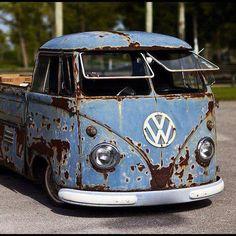 VW Volkswagen Rust Single Cab