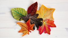Fall Leaves Instructions - YouTube