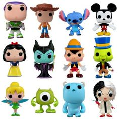 Funko Toys. Disney
