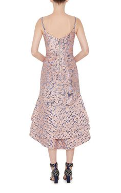 Cotton Camelia Embroidered Dress by JOHANNA ORTIZ Now Available on Moda Operandi