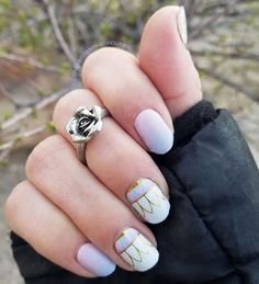 Enchanted Life and Cotton Candy, Jamberry, DIY nails, Jamberry nails,  Jamberry, Disney Collection by Jamerry, Jamberry wraps on nails, Disney Jamberry, Beauty and the Beast