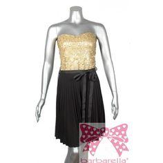 Vestido Beckinsale tableado