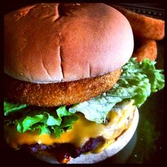 Onion ring Burger :)