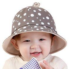 37abc532e1b93 6 12M Newborn Baby Beach Hat Bonnet Bucket Hat Kids Girls Boys Summer  Outdoor Sun Cap-in Hats   Caps from Mother   Kids on Aliexpress.com
