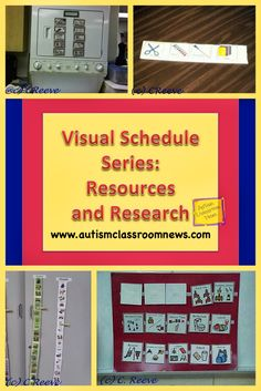 Print PDFIn this post I am going to wrap up the visual schedule series with resources about the research that support the use of schedules and for creating and using schedules. Several readers have requested information about the research that support the use of schedules. I started to put something together, but then realized that ... Read More about Visual Schedule Series: Resources and Research