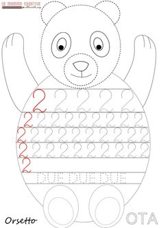 Crafts,Actvities and Worksheets for Preschool,Toddler and Kindergarten.Lots of worksheets and coloring pages. Preschool Number Worksheets, Numbers Preschool, Preschool Math, Pre K Activities, Kindergarten Activities, Childhood Education, Kids Education, Preschool Painting, Alphabet Letter Crafts