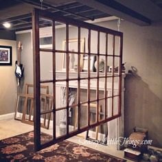 window- clever room devider