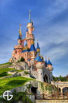 Disneyland Paris, France....and we've been here and though not on the natural scale...this one deserves being called awesome...simply because of what man has been able to make- fantasy come alive!!