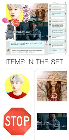 """anti-bullying"" by the-kewl-girls-group ❤ liked on Polyvore featuring art"