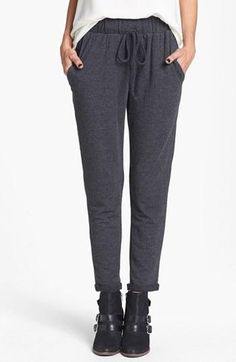 Trending now: slouchy knit pants