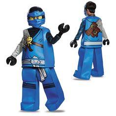 Boys Prestige Ninjago Jay Costume – LEGO