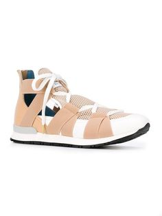 Vionnet elasticated band sneakers