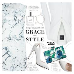 """""""Yoins 34:Grace&Style"""" by pokadoll ❤ liked on Polyvore featuring Weekend Max Mara, philosophy, Chopard and yoins"""