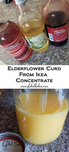 Elderflower Curd from Ikea syrup! – Global Bakes