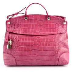 patent pink leather bag from Furla | SHOPATVOI