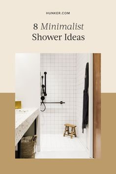In lieu of traditional bathroom decor (like colorful bath mats or a thriving plant) we're encouraged to take a different approach, such as highlighting the architectural elements of a room. To help you get started we compiled a shortlist of the minimalist shower ideas you need on your radar. #hunkerhome #minimalist #showerideas #minimalistshowerideas #bathroom Decor, Minimalist Design, Minimalist Showers, Traditional Bathroom, Traditional Bathroom Decor, Bathroom Decor, Architectural Elements, Colorful Bath Mats, Minimalist