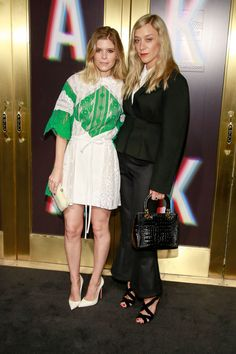 New Trending Celebrity Looks: Kate Mara and Chloë Sevigny Bring Serious Fashion to the Saks Fifth Avenue Party.  If we're going to be total bitches here, we have to admit, our first reaction to these shots was … let's just say we presumed any hypothetical conversations these two may have had to be … not without a certain level of pretension and self-seriousness. If we may be so...