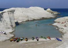 Sea Kayak Milos - Sea Kayaking on Milos Island