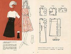 Free Vintage 1960s Dress Sewing Draft Pattern