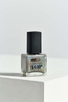 ncLA Shimmer Me Pretty Top Coat Nail Polish