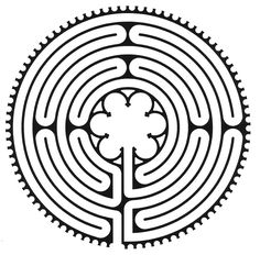 Labyrinths are a type of  mandala found in many   cultures and are used as a  tool for centering