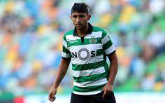 Download wallpapers Alan Ruiz, 4k, footballers, Sporting Lisbon, soccer, Primeira Liga, football