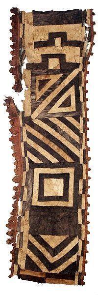 Kuba Bark Cloth: